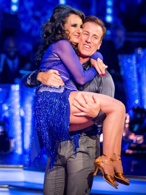 Strictly Come Dancing 2016: Lesley Joseph and Anton du Beke Launch show 2016