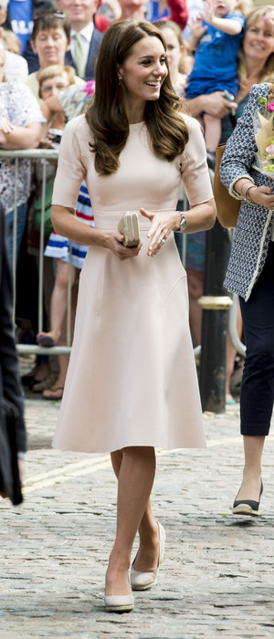 The Duchess of Cambridge (Kate Middleton) in Cornwall, 1st September 2016