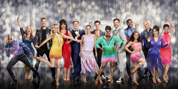 Strictly Come Dancing 2016 full line up, Sat 3 Sep