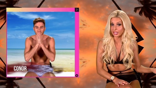 Holly Rickwood and ex Conor, Ex On The Beach 5, MTV 30 August