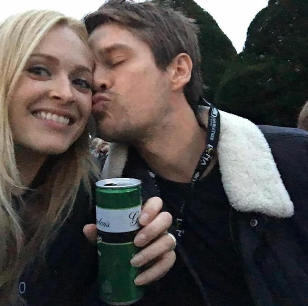 Fearne Cotton celebrates 35th birthday with Jesse Wood, 4/9/16