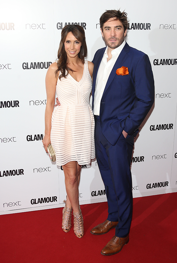 The Glamour Women of the Year Awards 2015 Alex Jones and husband Charlie Thomson