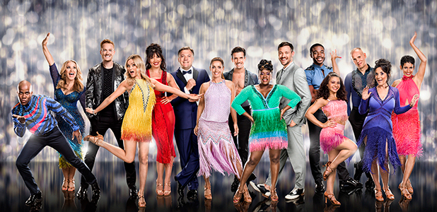 Strictly Come Dancing 2016 cast picture: Melvin Odoom, Anastacia, Greg Rutherford, Laura Whitmore, Daisy Lowe, Ed Balls MP, Louise Redknapp, Danny Mac, Tameka Empson, Will Young, Ore Oduba, Claudia Fragapane, Judge Robert Rinder, Lesley Joseph, Naga Munchetty