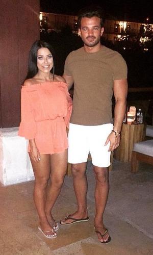Mike Hassini and Zoe Hamilton on holiday