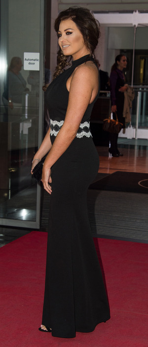 Former TOWIE star Jessica Wright attends the Everyday Heroes Black Tie Event, London, 7 September 2016