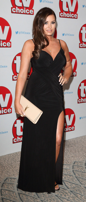Ex The Only Way Is Essex star Jessica Wright at the TV Choice Awards, The Dorchester Hotel, London, 5 September
