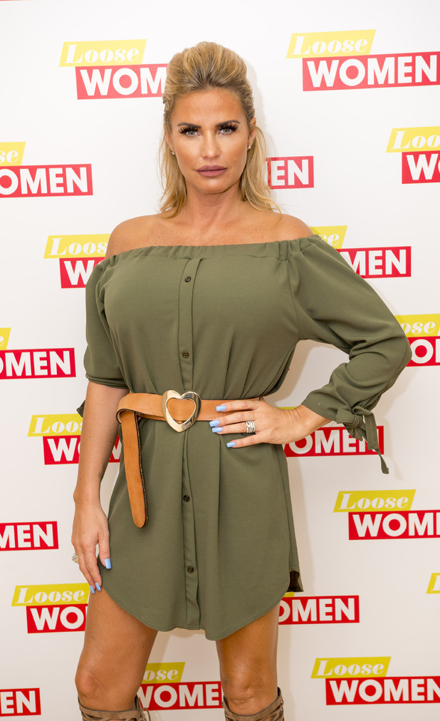 Katie Price, Loose Women, 9th September 2016