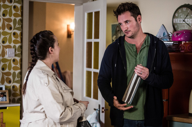 EastEnders, Martin angry with Sonia, Tue 13 Sep