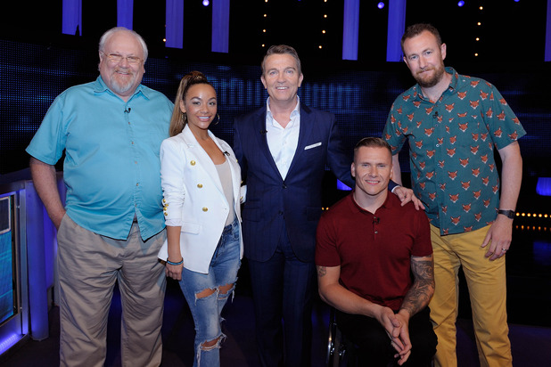 The Chase Celebrity Special, Bradley Walsh, Chelsee Healey, Colin Baker, David Weir, Alex Horne, Sun 11 Sep