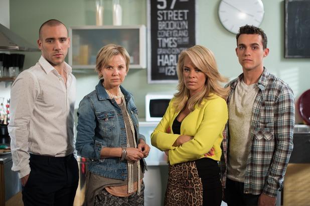 Hollyoaks, The Donovans, Mon 12 Sep