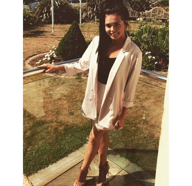 Gogglebox star Scarlett Moffatt wears Missguided, Instagram, 7 September 2016