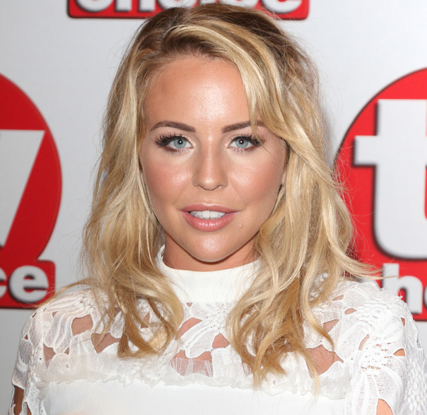The Only Way Is Essex's Lydia Bright attends the TV Choice Awards, The Dorchester Hotel, London, 5 September 2016