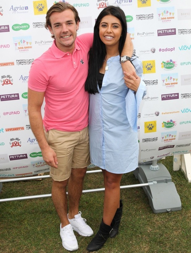 Cara de la Hoyde and Nathan Massey attend PupAid 2016 - 4 Sep 2016