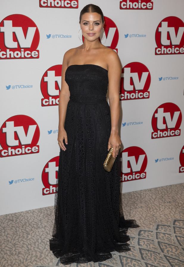 Chloe Lewis arrives for the TV Choice Awards at The Dorchester Hotel on September 5, 2016 in London, England.