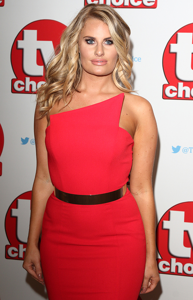 Danielle Armstrong The TV Choice Awards 2016 at the Dorchester