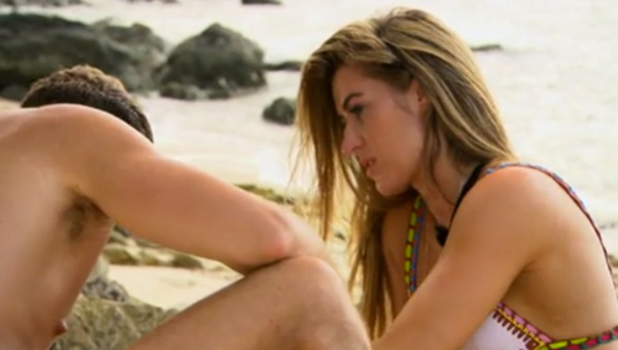EOTB Series 5, Episode 5 Gaz apologises to Lillie for what happened after their split Sept 2016