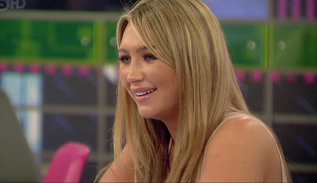 Celebrity Big Brother, Shown on ITV1 HD Lauren Goodger