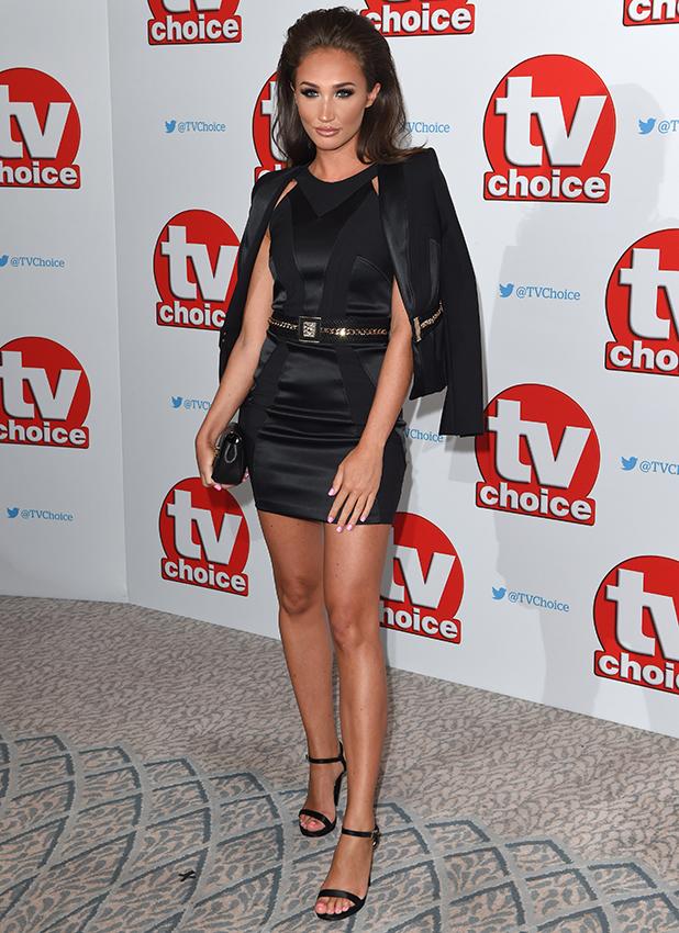 TV Choice Awards, The Dorchester, London, UK - 05 Sep 2016 Megan McKenna