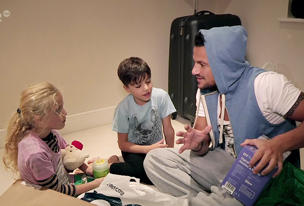 Peter Andre on My Life with Junior and Princess 2013