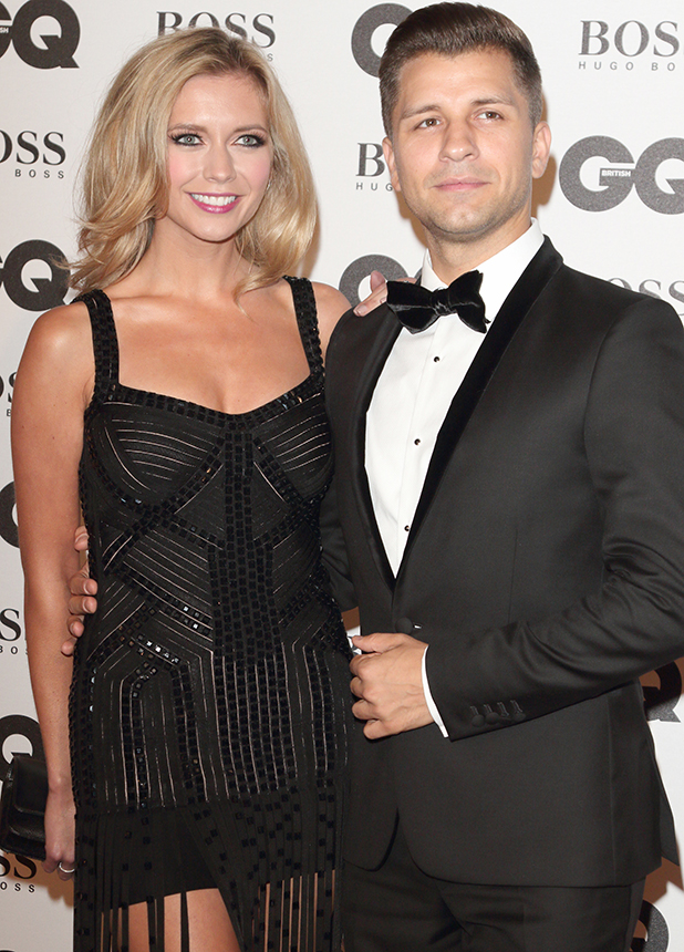 GQ Men of the Year Awards 2016 held at the Tate Modern Rachel Riley and Pasha Kovalev