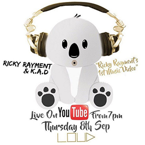 Ricky Rayment releasing track LOUD 7 Sept 2016