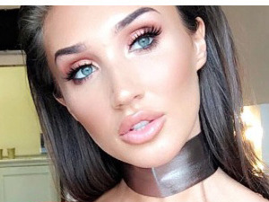 TOWIE star Megan McKenna teases her Miss Pap range on Snapchat, 15 September 2016