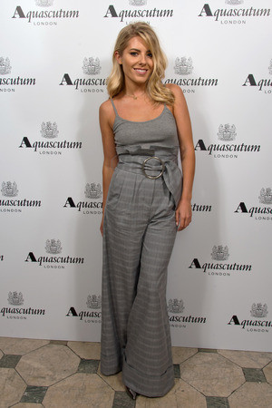 Mollie King attends the Aquascutum SS17 Presentation on September 16, 2016 in London, England