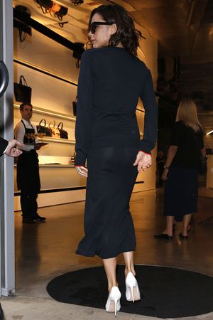 Victoria Beckham out and about during London Fashion Week, UK - 16 Sep 2016
