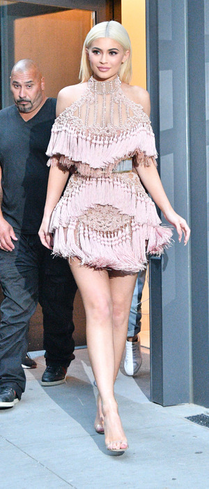 Keeping Up With The Kardashians star Kylie Jenner at New York Fashion Week, 12 September 2016