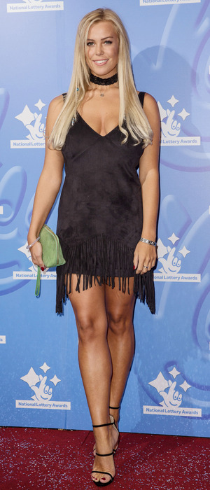 TOWIE star Chloe Meadows at the National lottery Awards, London, 9 September 2016