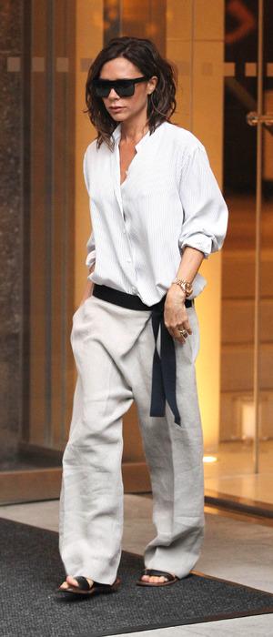 Victoria Beckham attends New York Fashion Week show, New York 11 September 2016