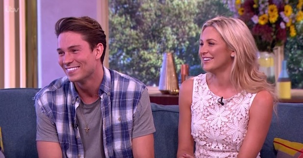 Stephanie Pratt and Joey Essex appear on This Morning, ITV 8 September