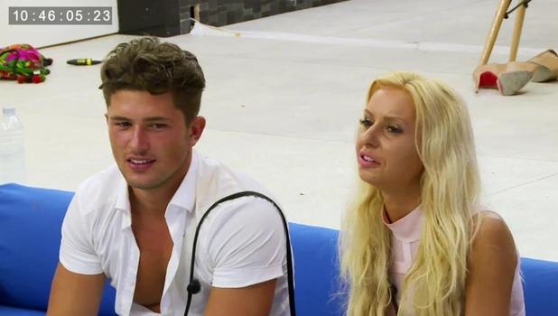 Ex On The Beach: Holly Rickwood and Jordan Davies 13 September
