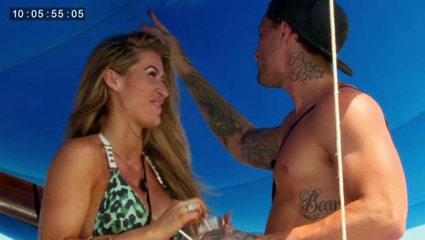 Ex On The Beach: Bear makes a move on Lillie Gregg 13 September
