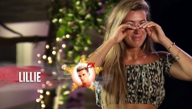 Lillie Lexie Gregg confronts Gaz Beadle over cheating, Ex On The Beach 15 September