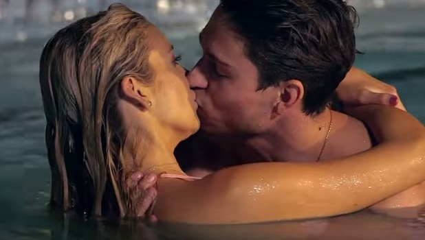 Stephanie Pratt and Joey Essex kiss, Celebs Go Dating 14 September