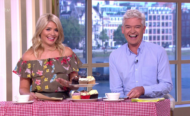 This Morning jokes about Great British Bake Off's new presenters, ITV 14 September