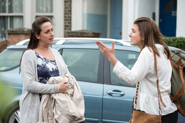 EastEnders, Bex furious with Sonia, Mon 19 Sep