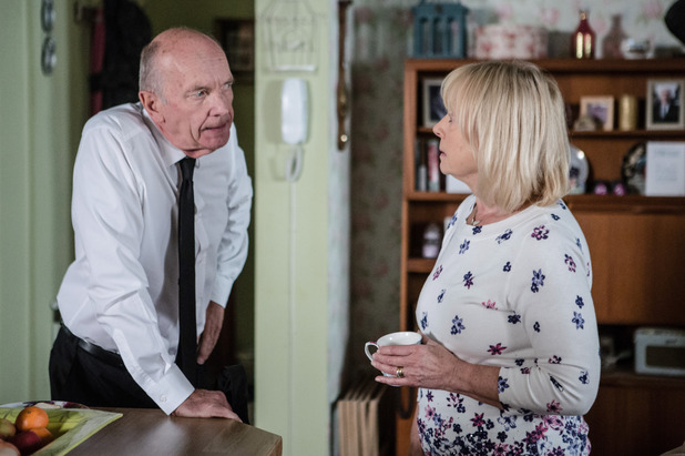 EastEnders, Les angry with Pam, Tue 20 Sep