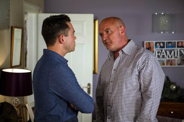 Corrie, Todd confronts Phelan, Fri 16 Sep