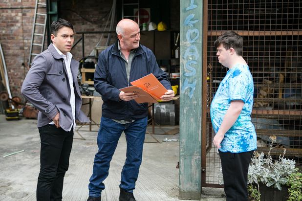 Corrie, Todd scams the neighbours, Wed 21 Sep