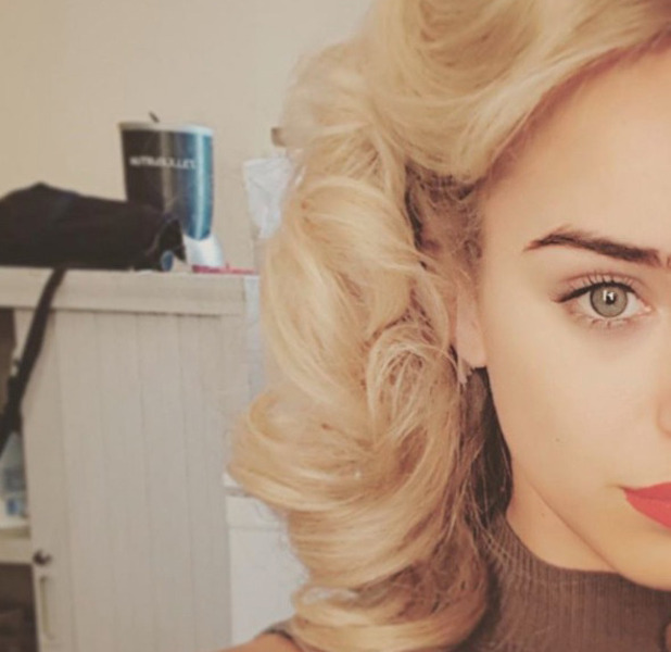 Strictly Come Dancing star Georgia May Foote goes blonde for role, 12 September 2016