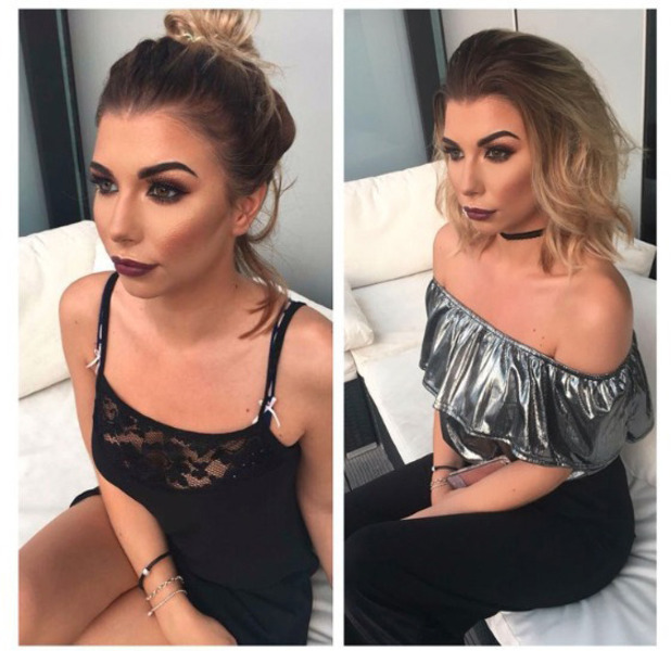 Love Island star Olivia Buckland shows off her new ombre hair on Instagram 15 September 2016