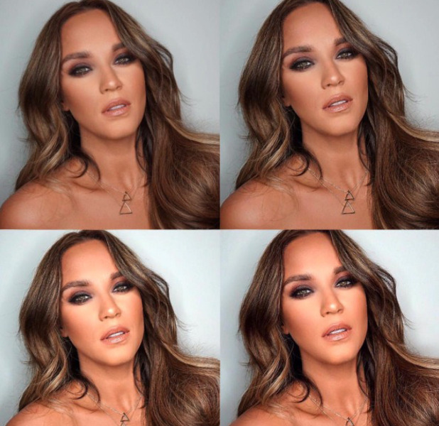 Geordie Shore star Vicky Pattison posts selfies to Instagram 14 September 2016