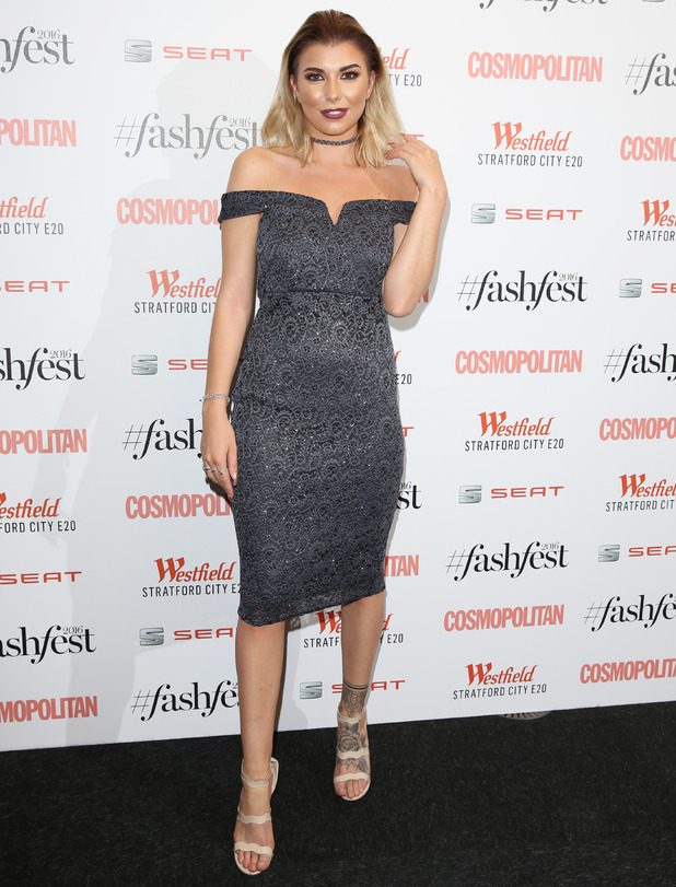 Cosmopolitan #Fashfest 2016 VIP Show and Party held at Old Billingsgate - Arrivals - 15 Sep 2016