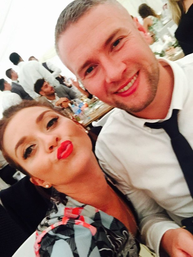 Bake Off's Candice Brown and partner - 15 Sep 206