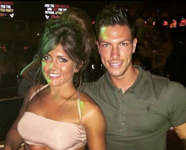 Love Island's Adam Maxted and girlfriend Carly Taylor September 2016