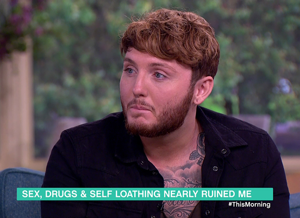 James Arthur promotes his single on This Morning 16 Sept 2016