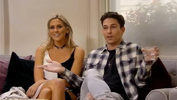 Celebs Go Dating: Steph and Joey visit agency to discuss romance 15 Sept 2016