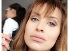 Former TOWIE star Ferne McCann dedicates a Snapchat to her fringe that just won't grow!